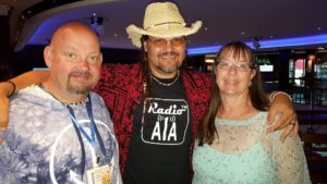 6 Lyle Wilson of Radio A1A with Donny and Michelle Brewer