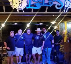 John Reno, Bobby Summers, Jerry Diaz, Donny Brewer, Mark Mireles, Heli Martinez at LuLu's Bar And Grill